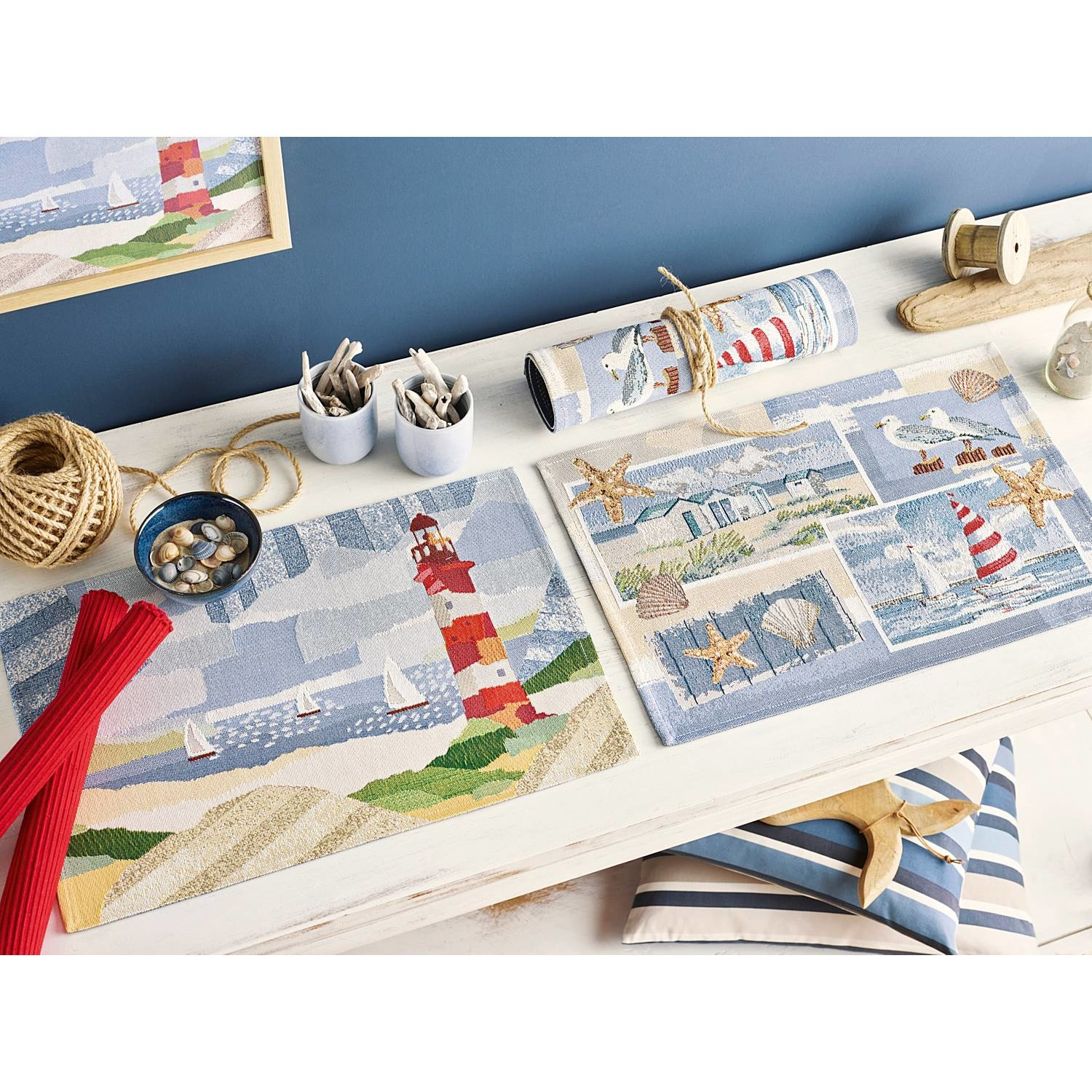 Placemat gobelin By the sea