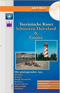 Kaart Schouwen-Duiveland