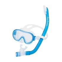 Tusa Junior snorkelset mini platina 1214