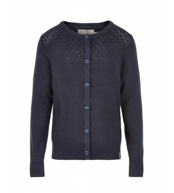 Creamie Cardigan Total Eclipse dark blue