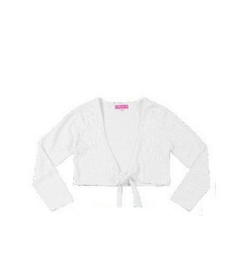 Derhy Kids cardigan bow white