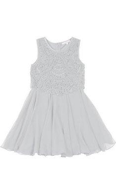 Derhy Kids Stella dress beads white bestseller