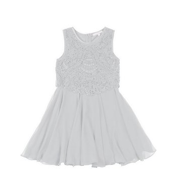 Derhy Kids Stella dress beads white