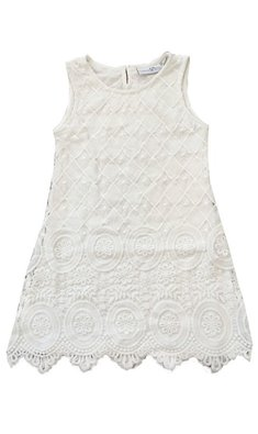 Happy Girls lace dress offwhite