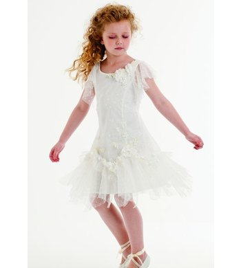 Kate Mack/Biscotti heirloom romande dress ivory