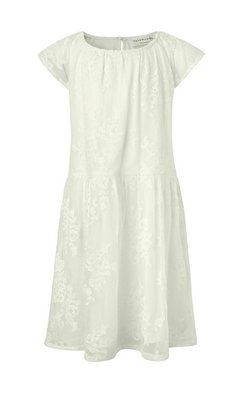 Rosemunde sheer lace dress ivory