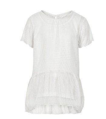 Creamie Top Mesh Doublelayer offwhite