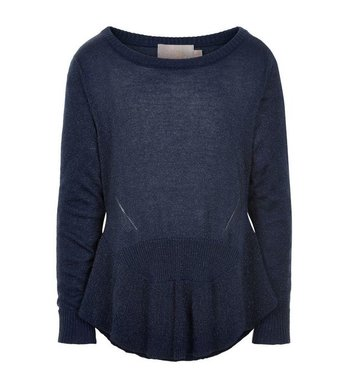 Creamie Pullover Frill Navy Night