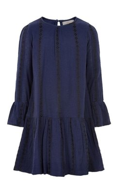 Creamie Dress Structure Navy Night