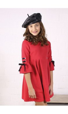 Amaya dress vestido tres chic red