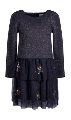 Happy Girls dress stars navy