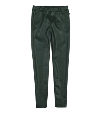Rumbl! legging leatherlook green