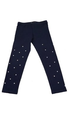 Kate Mack/Biscotti Legging holiday magic navy