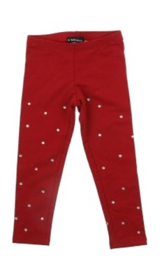 Kate Mack/Biscotti Legging holiday magic red