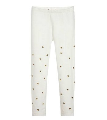 Kate Mack/Biscotti Legging melting heart ivory