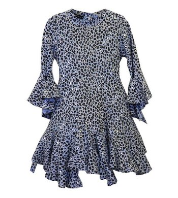 Kate Mack/Biscotti Dress Animal magic blue
