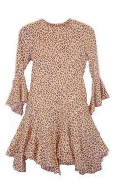 Kate Mack/Biscotti Dress Animal magic pink