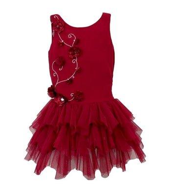 Kate Mack/Biscotti dress Timeless elegance red
