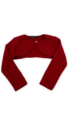 Kate Mack/Biscotti Shrug knit Red