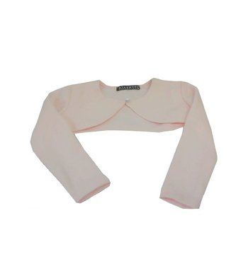 Kate Mack/Biscotti Shrug knit Pink