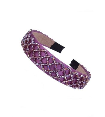 Party Headband purple