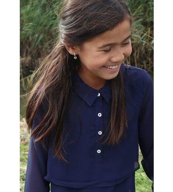 Derhy Kids Lourde dress chemise marine