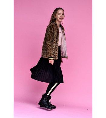 Creamie Skirt Plissé Black