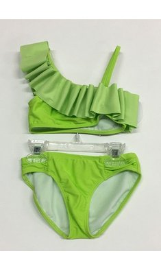 Kate Mack/Biscotti Bikini make a splash lime MONSTERMODEL
