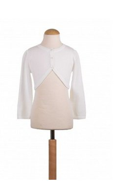 Happy Girls bolero dun gebreid offwhite