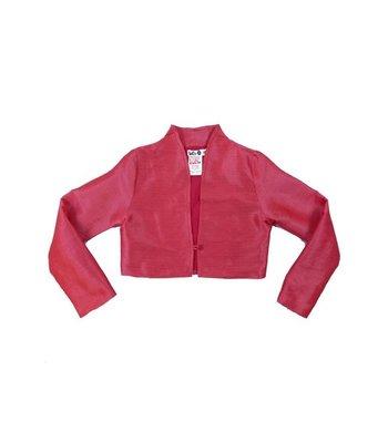 LoFff Jacket Jacquard Pink Mulberry silk