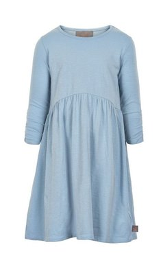 Creamie Dress Slub Jersey LS  Blue Fog