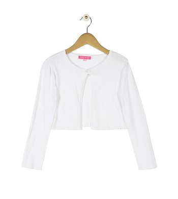Derhy Kids luce cardigan white