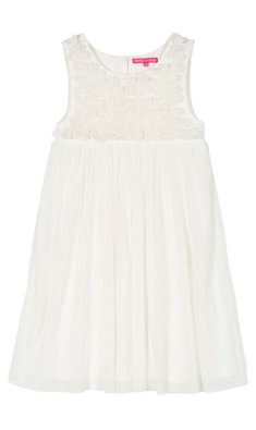 Derhy Kids Idaline dress flowers white