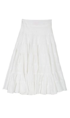 Derhy Kids Debbie long skirt white