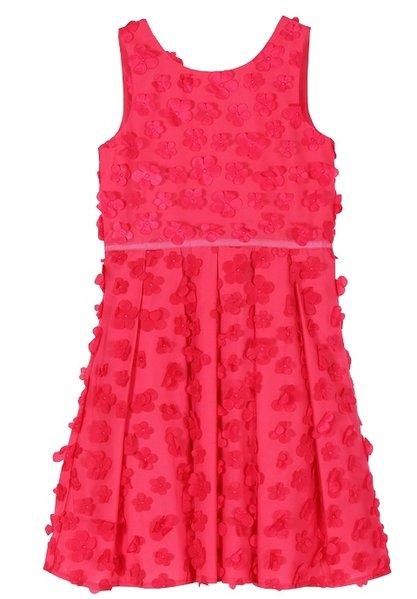 93b73f65ffb64c Derhy Kids Ilinka dress flowers framboise - Meisjesfeest