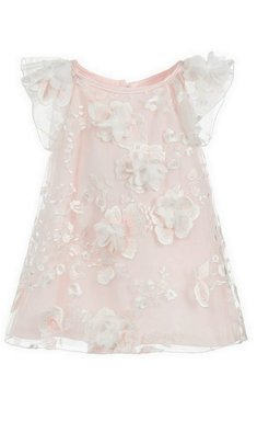 Kate Mack/Biscotti dress flowers pink