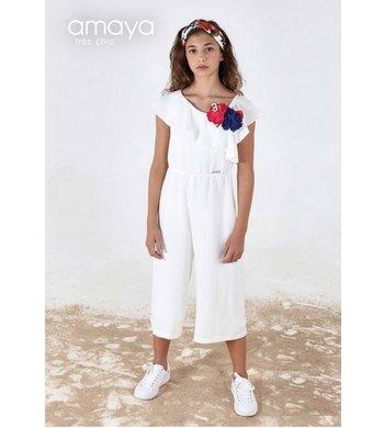 Amaya jumpsuit offwhite