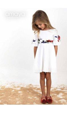 Amaya dress offwhite (bestseller)