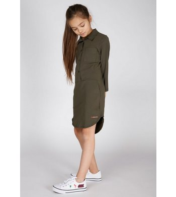Moscow shirtdress driftwood olive
