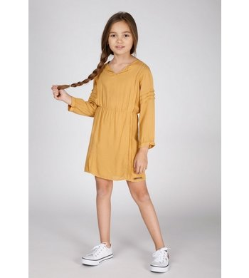 Moscow dress summer glow yellow ocher