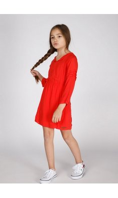 Moscow dress hibiscus red