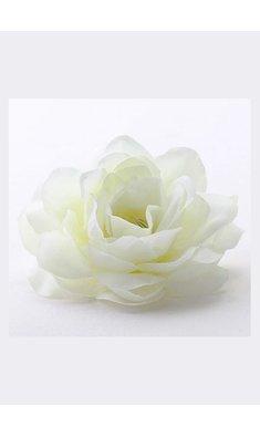 Party haarspeld bloem offwhite