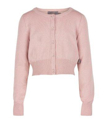 Creamie short cardigan pink