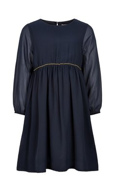 Creamie Dress Chiffon dark blue