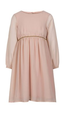 Creamie Dress Chiffon pink