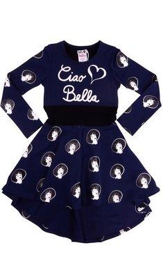 LoFff Dress Sophia Dark Blue