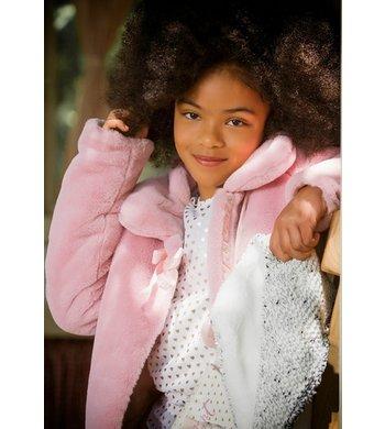 UBS.2 fakefur jacket pink