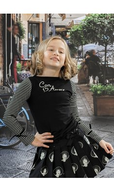 LoFff Shirt Con Amore Black