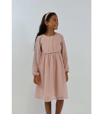 Creamie Dress Chiffon pink
