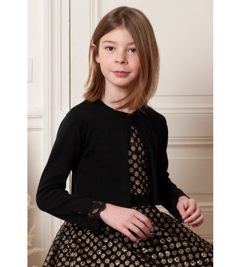 Derhy Kids cardigan Caty black